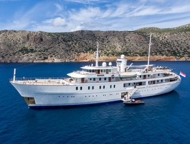 Special offer on Caribbean yacht charters aboard iconic superyacht SHERAKHAN