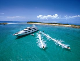 Superyacht 'Bad Girl' Offers Flat Rate for Caribbean Charters