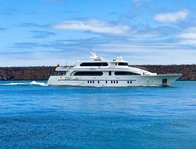 Motor yacht 'Grand Daphne' offers Galapagos Islands charter discount