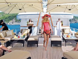 Carribbean yacht charter offer: save with 71m Feadship superyacht UTOPIA