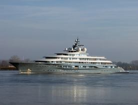 Video: brand new 136m Lurssen superyacht 'Project Shu' completes sea trials