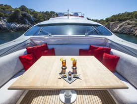 27m 'Tiger Lily Of London': Enjoy a reduced rate Ibiza yacht charter in July