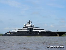 Exclusive: 135m Lurssen superyacht CRESCENT (ex-Project Thunder) delivered