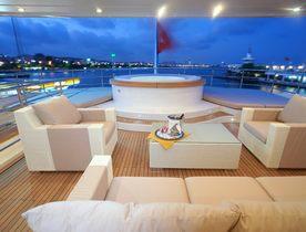Bilgin Charter Yacht TATIANA Offers Late-Season Ibiza Deal