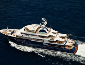 M/Y POLAR STAR Available for Mediterranean Charters