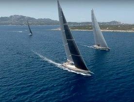 Video: Live from day 1 at Loro Piana Superyacht Regatta 2019