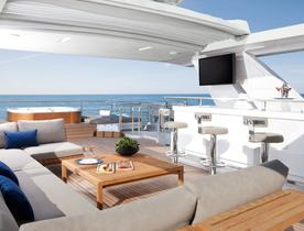 Benetti Superyacht 'Cheers 46' Joins the Bahamas Charter Fleet