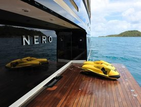 Superyacht NERO Available For Charter This New Year