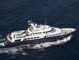 M/Y 'BLUE ATTRACTION' has August Availability in the Adriatic