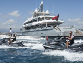 Charter Superyacht MOGAMBO at the Abu Dhabi Grand Prix 2017