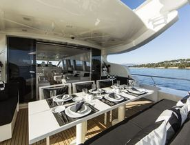 Superyacht FRIDAY Lowers Charter Rate