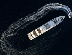 Superyacht LAURENTIA opens for charter in the Caribbean over the festive season