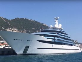 Video: 110m Oceanco Superyacht JUBILEE Arrives In The Mediterranean