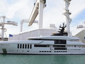 Brand New Motor Yacht OURANOS to Exhibit at Monaco Yacht Show