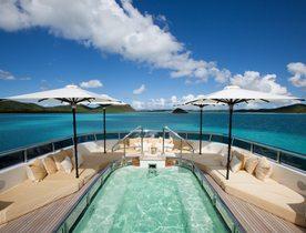 Viareggio Luxury Yacht ROMA Drops September Charter Rate