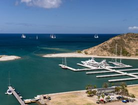 St Kitts and Nevis Enjoy Huge Increase in Superyacht Charters