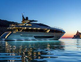 Brand new Riva motor yacht RUZARIJA joins the charter fleet in Croatia