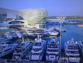 Superyachts Flock to the Abu Dhabi Grand Prix 2016
