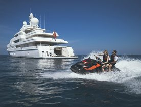 Superyacht TITANIA Available for Winter Charters in the Maldives