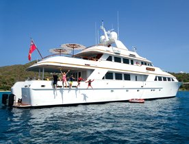 British Virgin Islands yacht charter special: save with superyacht 'Lady J'