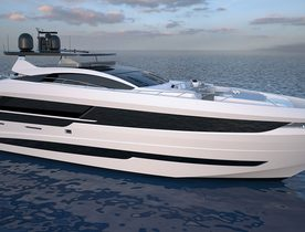 First Gransport 33 superyacht launched by Mangusta