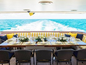 Motor Yacht SUNSHINE Reduces Rate for Luxury Caribbean Charters