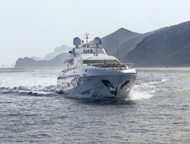 Superyacht MOONRAKER Joins the Charter Fleet