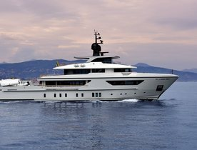 42m Sanlorenzo superyacht X now available for luxury yacht charters