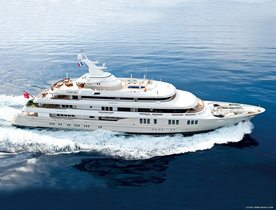 Special Charter Rates on Superyacht Reborn