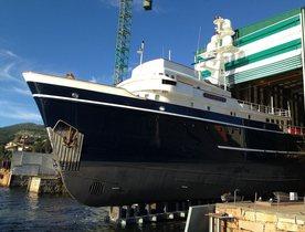Motor Yacht SEAWOLF Completes Major Refit