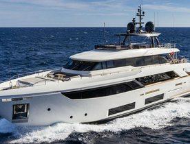 Brand New Motor Yacht 'December Six' Joins Mediterranean Charter Fleet