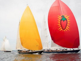 Charter Yacht Velacarina wins the Pendennis Cup 2014