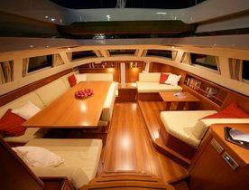 Sailing Yacht 'Si Vis Pacem' Cruising throughout the Mediterranean this Summer
