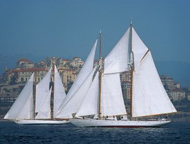 Classic Yacht PURITAN Returns to Charter Market in the Mediterranean