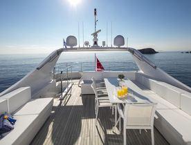 Superyacht NASHIRA Joins The Greek Charter Fleet