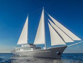 Brand new motor sailor CORSARIO joins global charter fleet