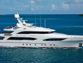 Superyacht KATYA Available in the Caribbean this Winter