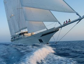 Sailing Yacht ATHENA No Longer for Charter