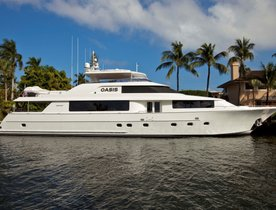 Refitted Motor Yacht OASIS Ready for Charter in the Bahamas