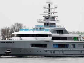 Exclusive First Video: Superyacht CLOUDBREAK Undergoing Sea Trials