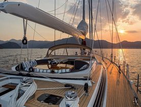 Sailing Yacht SAVARONA Welcomed Onto Mediterranean Charter Market