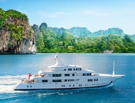 Charter Superyacht 'Party Girl' In Thailand This Winter