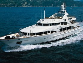 Superyacht MORE Charter Availability in the French Riviera