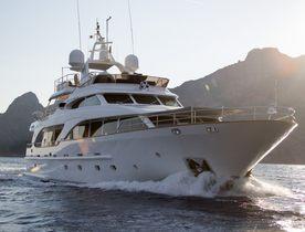 Motor Yacht SALU Reveals Discounted Charter Gap in the Mediterranean