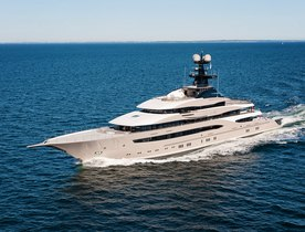 Lürssen Superyacht KISMET Completes Sea Trials