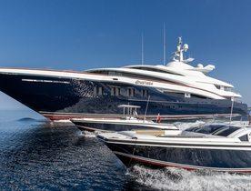Popular Oceanco charter yacht ANASTASIA renamed as superyacht WHEELS
