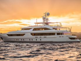 Superyacht SCORPION available for 2020 Mediterranean yacht charters