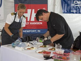 REVEALED: Winners of the 2017 Newport Charter Show Chefs' Competition