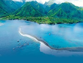 New Superyacht Marina in Charter Destination Tahiti