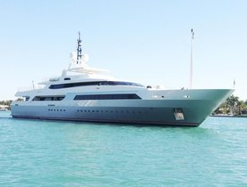 Superyacht VICKY available for charter at the Monaco Grand Prix